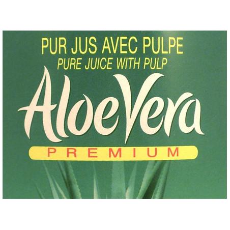 Aloe Vera Premium® jus avec pulpe 1L