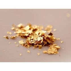 gold flakes gyokuro tea