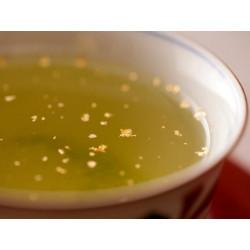 Gold flakes for Gyokuro tea