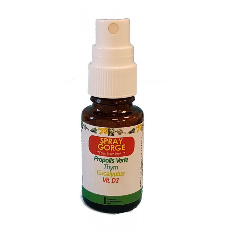 spray gola aloe vera echinacea