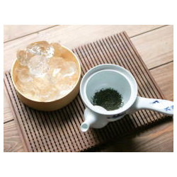 ICED TEA with Organic green leaves Gyokuro