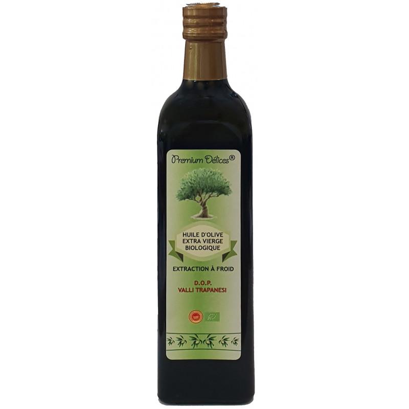 Huile d'Olive Extra Vierge Biologique DOP 0,75L